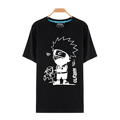 Inspirado por Naruto Fantasias Anime Fantasias de Cosplay Tops Cosplay / Bottoms Estampado Blusa Para Homens