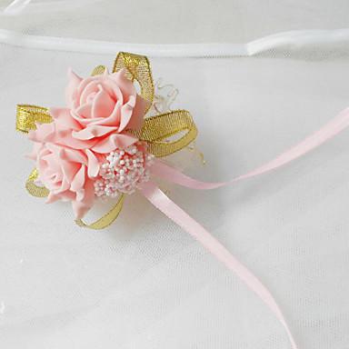 Hochzeitsblumen Armbandblume Hochzeit Party / Abend Tüll Polyester Schaum 3 cm ca.