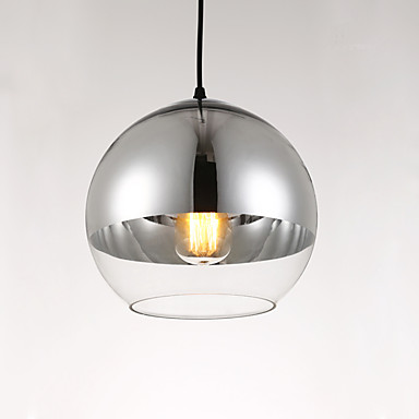 Kugel Pendelleuchten Moonlight Galvanisierung Glas Glas Designer 110-120V / 220-240V Glühbirne nicht inklusive / E26 / E27