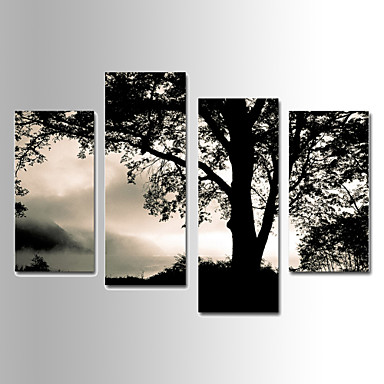 Landscape Vászon nyomtatás Négy elem Kész lógni,bármilyen forma