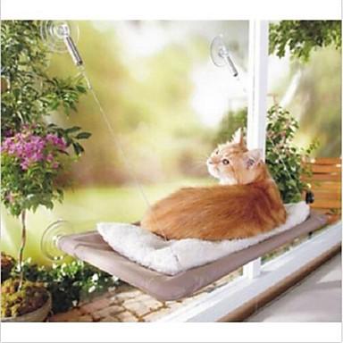 Katze Betten Haustiere Matten & Polster Klappbar Weiß Für Haustiere