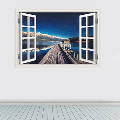 Mrtva priroda / Pejzaž / Fantazija / 3D Zid Naljepnice 3D zidne naljepnice,pvc 60*90cm