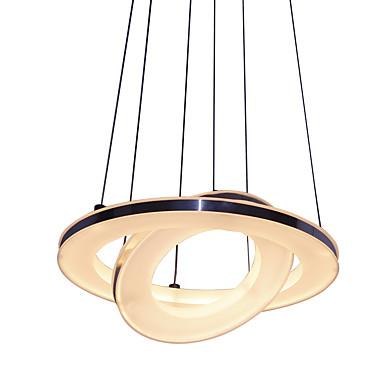 Moderne / Nutidig Anheng Lys Til Stue Soverom Spisestue Leserom/Kontor AC 100-240V Pære Inkludert