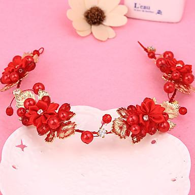 Damen Mädchen Stoff Aleación Kopfschmuck-Hochzeit Besondere Anlässe Stirnbänder 1 Stück
