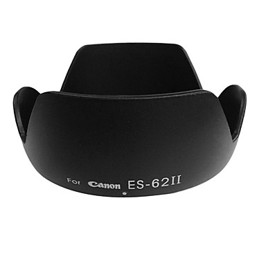 newyi® flor da lente de substituição capa Canon ES-62ii para ef F1.8 50 / 1.8ii 50mm es-62 ii