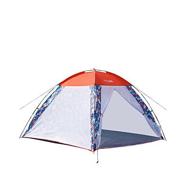 Makino 3-4 henkilöä Teltta Kolminkertainen teltta Yksi huone Hyvin ilmastoitu Tuulenkestävä Hyönteisiä hylkivä Hengitettävyys varten
