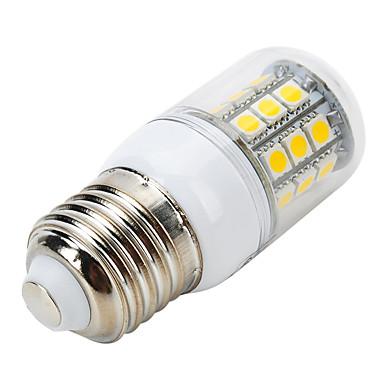 400-500 lm E26/E27 LED-kolbepærer B 31 leds SMD 5050 Dekorativ Varm hvid AC 220-240V