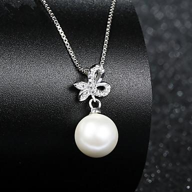 Herrn Damen Paar Gestalten Strass Imitierte Perlen Künstliche Perle Strass Silber Hochzeit Party Besondere Anlässe Jahrestag Geburtstag