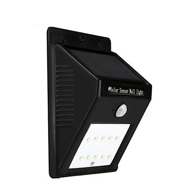 billige Utendørsbelysning-1 stk Dekorations Lys Soldrevet Vanntett / Sensor