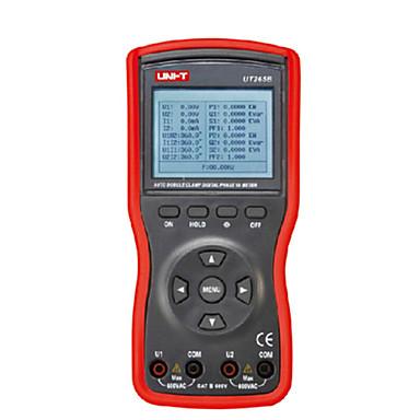 uni-t ut265b rød for strømmåleren