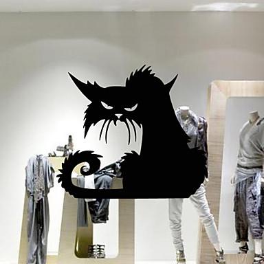 Dyr Tegneserie Højtid Veggklistremerker Fly vægklistermærker Dekorative Mur Klistermærker, PVC Hjem Dekor Veggoverføringsbilde