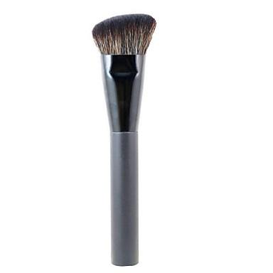 Professionel Make-up pensler Foundationbørste 1 Rejse Professionel Hypoallergenisk Begrænser bakterier blanding Premium fejlfri polering Syntetisk Hår / Kunstig Fiber Børste til Khaki Flydende Pudder