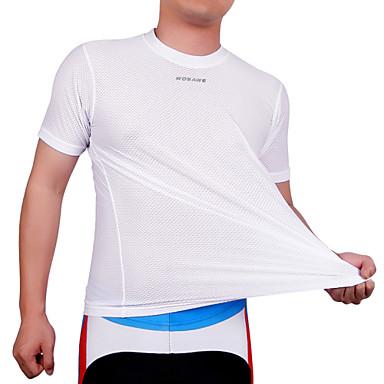 WOSAWE Camisa para Ciclismo Unisexo Manga Curta Moto Pulôver Camisa/Roupas Para Esporte Blusas Roupa de Ciclismo Secagem Rápida Design