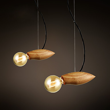 40W Függőlámpák ,  Hagyományos/ Klasszikus Mások Funkció for LED / A tervezők Fa/ BambuszNappali szoba / Hálószoba / Étkező / Konyha /