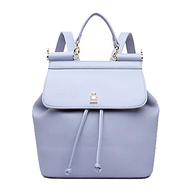 Damen Taschen PU Tragetasche Handgelenk-Tasche Kosmetik Tasche Rucksack Reisetasche Schultasche Laptop Tasche Sport & Freizeit Tasche