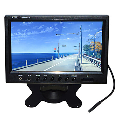 800 * 480 9 인치 TFT-LCD 자동차 백미러 높은 품질 모니터링