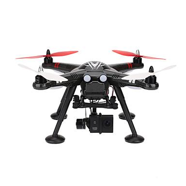 RC 드론 WL Toys X380-C 4CH 6 축 2.5G 1080P RC항공기 리턴용 1 키 안전 장치 헤드레스 모드 카메라를 제어 비행 데이터를 수집 지상 역 GPS 위치 카메라 내장 RC항공기 리모컨 USB 케이블 드론용 배터리1개 배터리