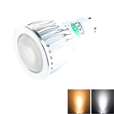 7W GU10 LED szpotlámpák MR11 1 COB 650 lm Meleg fehér / Természetes fehér Dekoratív AC 100-240 V 1 db.