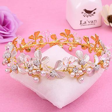 סגסוגת tiaras headpiece מסיבת חתונה אלגנטית בסגנון נשי קלאסי