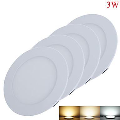3W Instrumententafel-Leuchten 15pcs SMD 2835 220-260lm lm Warmes Weiß / Kühles Weiß / Natürliches Weiß Dekorativ DC 12 V 4 Stück