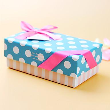 1 조각/세트 부탁 홀더-큐보이드 카드 종이 기프트 박스 비 개인화