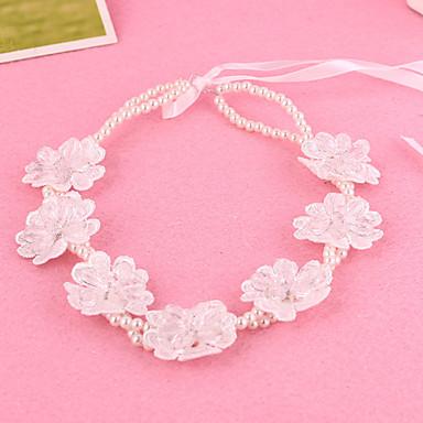 Damen Mädchen Perle Spitze Kopfschmuck-Hochzeit Besondere Anlässe Stirnbänder 1 Stück