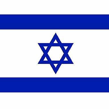 90x150cm großen Polyester Israel Flagge Polyester Nationalflaggen und Fahnen Wohnkultur (kein flagpole)