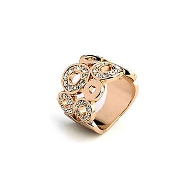 Prstenje Prilagodljivo Party Jewelry Glina Žene Prstenje sa stavom 2pcs,Univerzalna veličina Srebrna