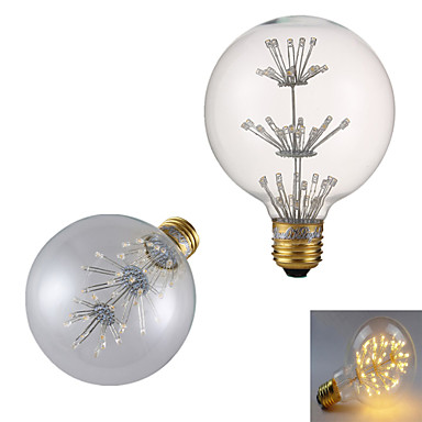 e26 / e27 led filamentpærer par38 47 cob 240lm varm hvit 3000k dekorativ ac 220-240v