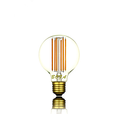 2200/2700 lm E26 / E26 / E27 LED Kugelbirnen G80 6 LED-Perlen COB Abblendbar / Dekorativ Warmes Weiß 220-240 V / 1 Stück