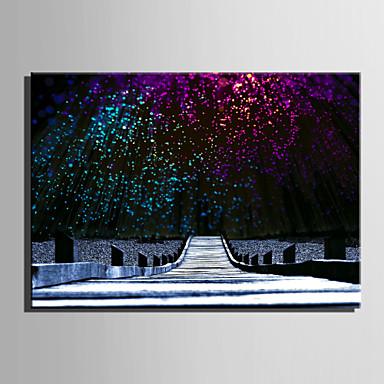 Landschaft Modern Europäischer Stil, Ein Panel Segeltuch Horizontal Druck Wand Dekoration Haus Dekoration