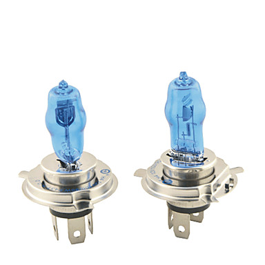 2pcs H4 Auto Leuchtbirnen 100W 1800lm Halogen Scheinwerfer