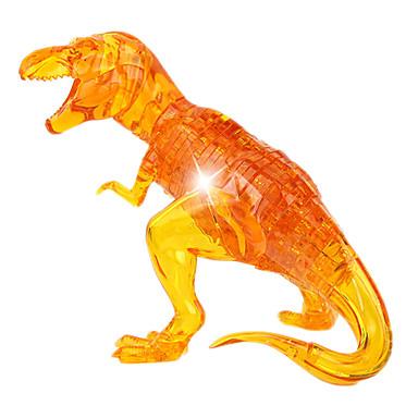 ZHILING Blocos de Construir Quebra-Cabeça Quebra-Cabeças de Cristal Dinossauro Novidades Cristal ABS Para Meninos Crianças Dom 50pcs