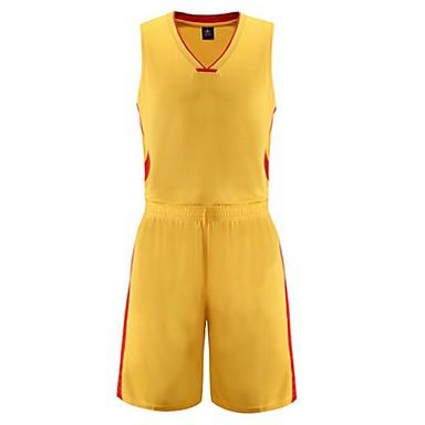 Ensemble de Vêtements/Tenus(Jaune Blanc Rouge Bleu) -Sport de détente Badminton Basket-ball Course/Running-Sans manche-Homme