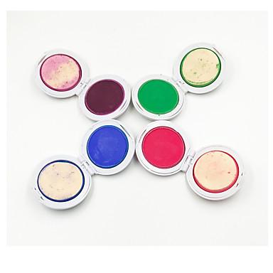 1set 4 farger farge håret pulver caketemporary hår kritt pulver farge soft past salon fest jul diy
