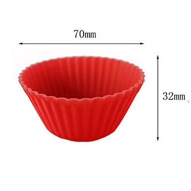 Moule de Cuisson Chocolat Tarte Cupcake Gâteau Silicone Economique La Saint Valentin Haute qualité