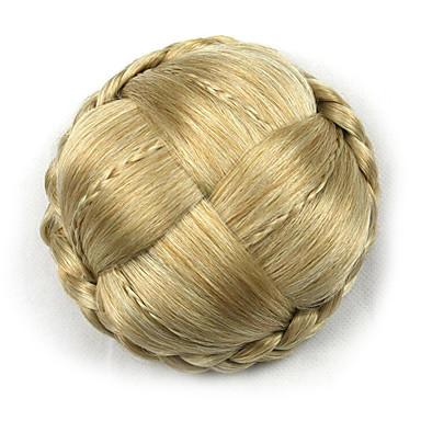 verworrene lockige Gold Europa Braut Chignons menschliches Haar capless Perücken g660232-l 1003