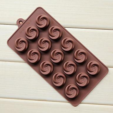 Moule de Cuisson Mold DIY Bourgeonnant Chocolat Tarte Gâteau Silicone Caoutchouc Economique La Saint Valentin Haute qualité