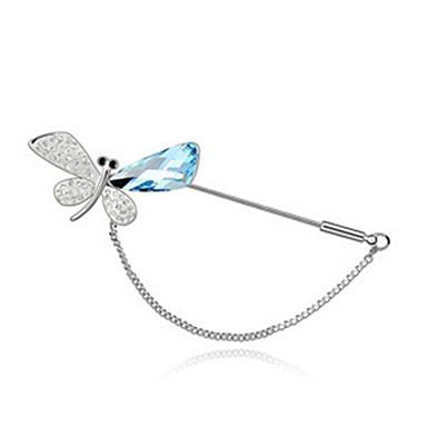 Damen Broschen Krystall Tierform Schmetterling Schmuck Für Hochzeit Party