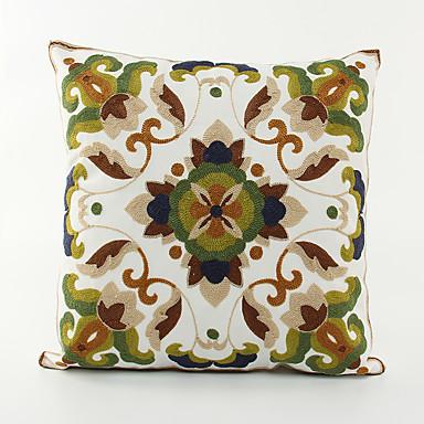 1 Stück Baumwolle Kissenbezug, Blumen Freizeit Akzent dekorativen Büro/Geschäftlich Modern/Zeitgenössisch