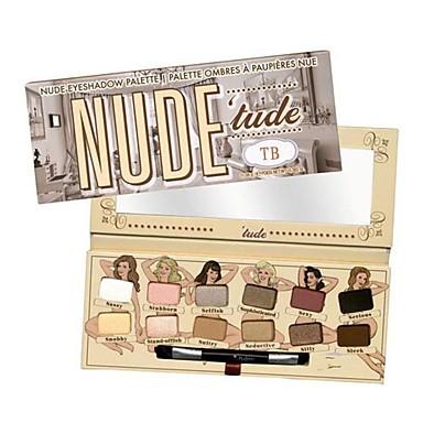 12 Lidschattenpalette Trocken Lidschatten-Palette Puder NormalSmokey Makeup / Alltag Make-up / Halloween Make-up / Party Make-up / Feen