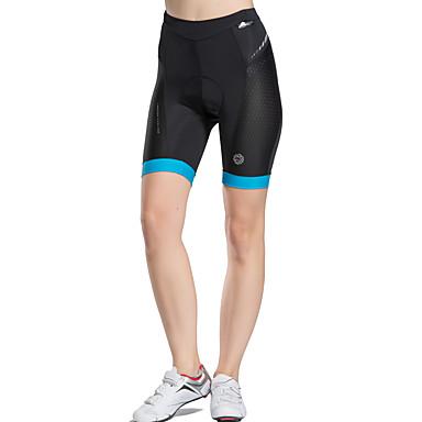 TASDAN Mulheres Bermudas Acolchoadas Para Ciclismo Moto Shorts / Shorts Roupa interior / Shorts Acolchoados Secagem Rápida, Respirável,