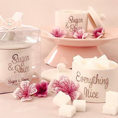 Zylinder Keramik Geschenke Halter mit Geschenkboxen Geschenktaschen Süßigkeiten Gläser und Flaschen - 1
