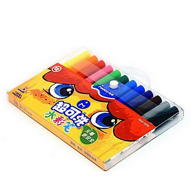 Festmény Toll Színes filcek Toll,Műanyag Hordó Ink Colors For Iskolai felszerelés Irodaszerek Csomag