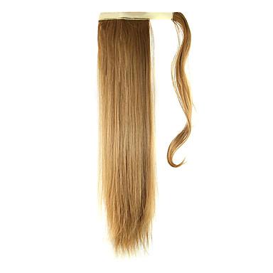 נתפס עם קליפס קוקו לעטוף שיער סינטטי חתיכת שיער הַאֲרָכַת שֵׂעָר ישר