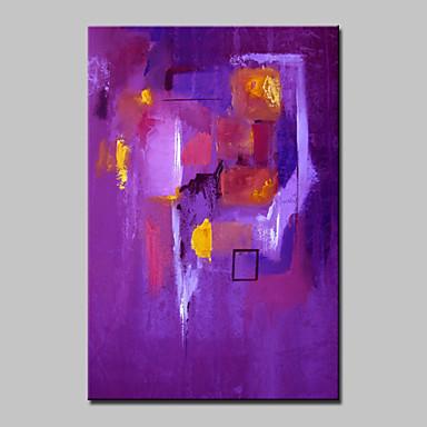 מצויר ביד מופשט מאונך,מודרני פנל אחד בד ציור שמן צבוע-Hang For קישוט הבית