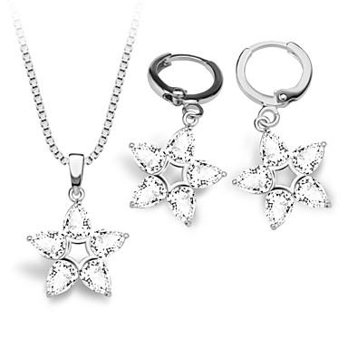Ensemble de bijoux Imitation de diamant Mode Blanc Collier / Boucles d'oreilles Mariage Soirée Quotidien Décontracté 1setColliers