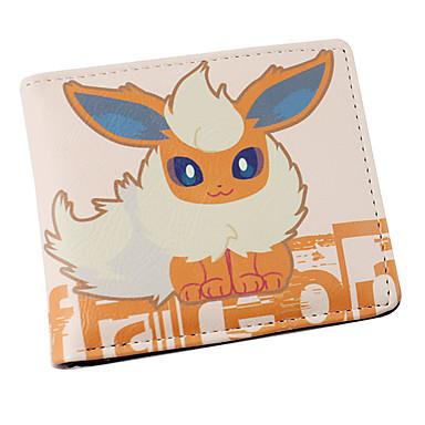 Bolsa Carteiras Inspirado por Pocket Little Monster Fantasias Anime Acessórios para Cosplay Carteira Couro PU Masculino Feminino