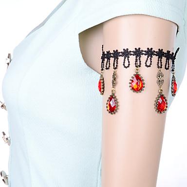 Femme Bijoux de Corps Bracelet de Bras Chaîne de Corps Sexy Dentelle Bijoux Pour Quotidien Décontracté