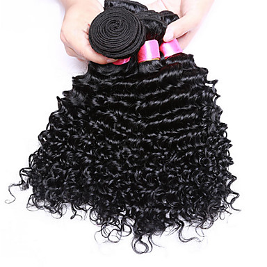 Menschenhaar spinnt Brasilianisches Haar Wogende Wellen 3 Stück Haar webt
